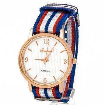 Zegarek mięciutki niebieski